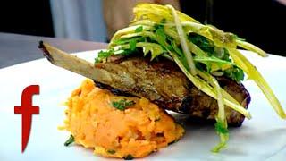 Plating Pork Loin With Gordon Ramsay | The F Word