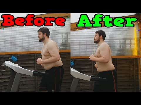 Running Everyday For 1 Month (Weight Loss Time Lapse)