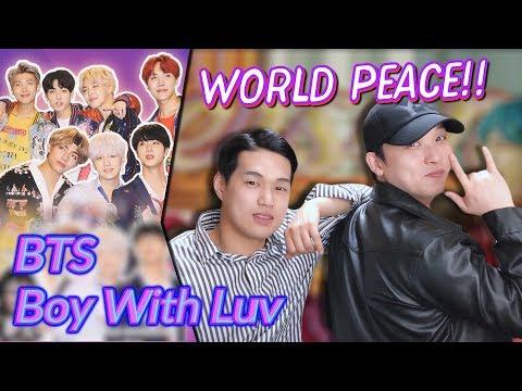 K-pop Artist Reaction BTS - Boy With Luv - feat Halsey Billboards  Awards 2019
