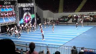 Lanao del Norte National Comprehensive High School - NCC Finals 2014 HS COED