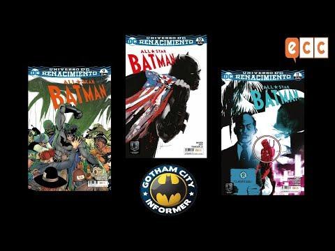 ALL STAR BATMAN #9 , #10 Y #11 | Gotham City Informer | Todo Batman en Español
