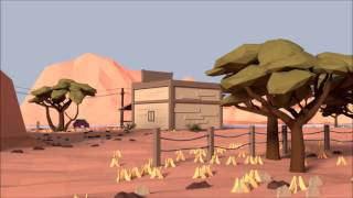 Low-poly animation