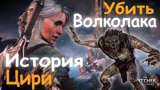 Прохождение Ведьмак 3, История Цири Король Волков, Убить Волколака