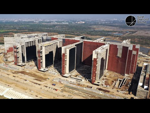 Construction Progress | 10 | January 2021 | Surat Diamond Bourse