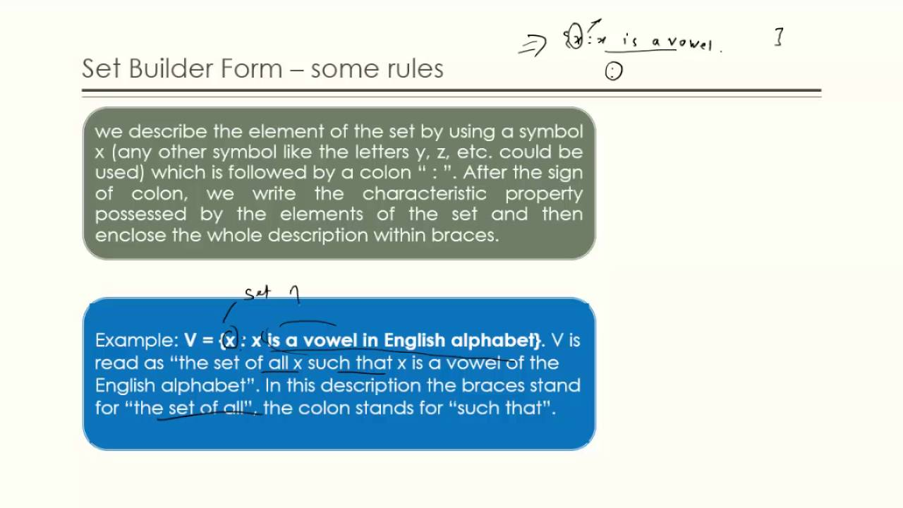 Class 11 Maths Chapter 1 Sets Part 2 Youtube