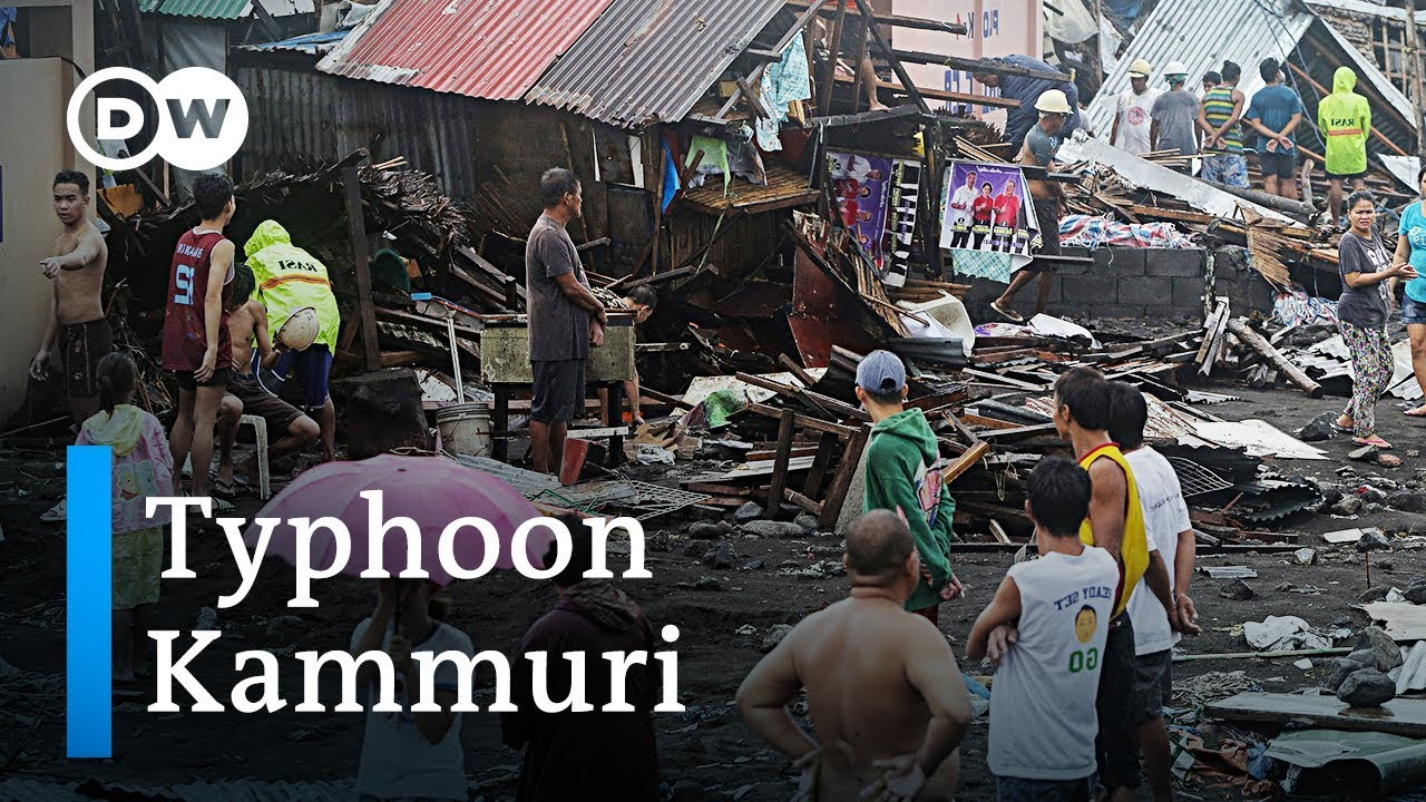 Philippines Hit By Devastating Typhoon Kammuri Dw News