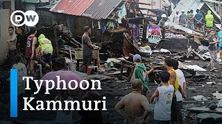 Philippines Hit By Devastating Typhoon Kammuri | Dw News