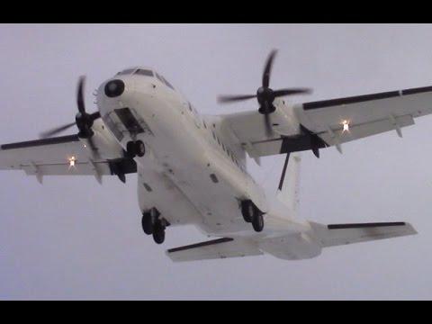 CASA CN-235 - Landing
