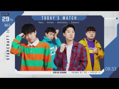 [ENG] 2019 GSL S2 Code S RO32 Group A