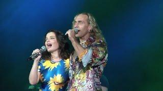 Наташа Королева и Тарзан шоу в Анапа  Летняя эстрада 07.2012