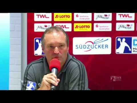 Pressekonferenz TSG Ludwigshafen-Friesenheim vs. TSV Hannover-Burgdorf