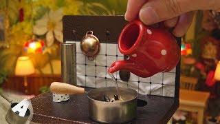 MiniFood 食べれるミニチュア ひじきの煮物 miniature simmered hijiki