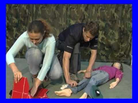 Оказание первой помощи при кровотечениях
