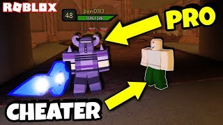CHEATER NOOB verwendet PRO In DUNGEON QUEST TO LEVEL UP EASY *SHAMELESS* (Roblox)