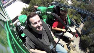 Green Lantern First Flight at Six Flags Magic Mountain