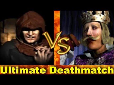 Abbot vs Phillip - Ultimate Deathmatch | Stronghold Crusader AI-Battle