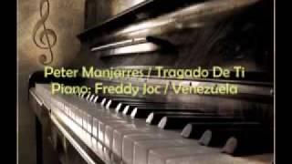 Tragao de ti - peter manjarrez cover piano instrumental