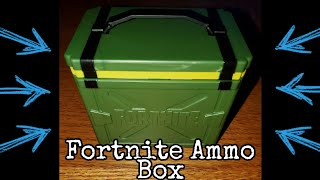 Opening A Fortnite Ammo Box - Battle Royale - Unboxing Unpacking Mystery Box Package