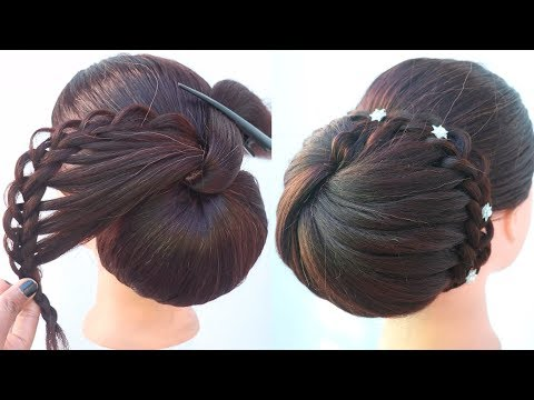 new-braided-juda-hairstyle-for-wedding-|-party-hairstyles-|-easy-hairstyle-|-new-hairstyle-for-girls