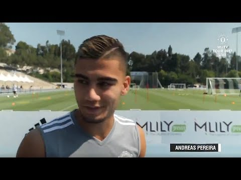 Andreas Pereira MUTV Interview Tour 2017!