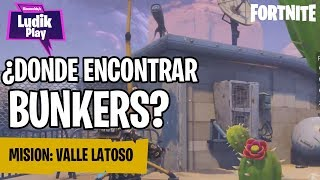 WHERE TO FIND BUNKERS? UNDERGROUND LATOSO VALLEY ? FORTNITE SAVE THE WORLD SPANISH GUIDE