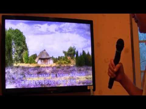 Auf der Heide blüht ein kleines Blümelein  - Erika Waltz KARAOKE