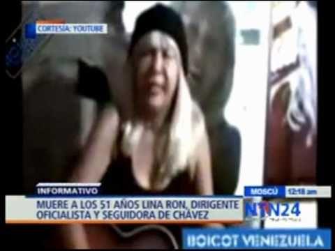 Murio Lina Ron fiel servidora del Socialismo en Ve...