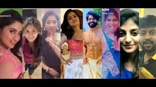 Bigg Boss Season 4 Tamil All Contestants TikTok and Tamil Dubsmash Videos 2020