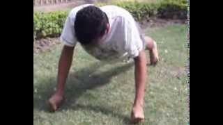 World Record push ups on thumb in a minute