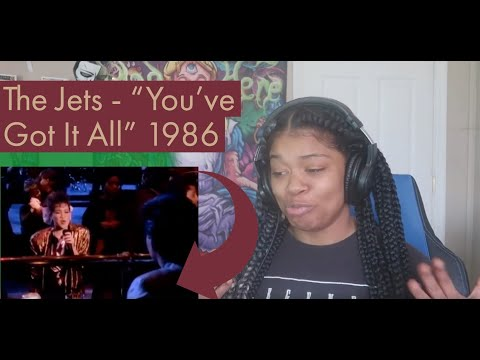 "The Jets - ""You've Got It All"" 1986 REACTION!!"