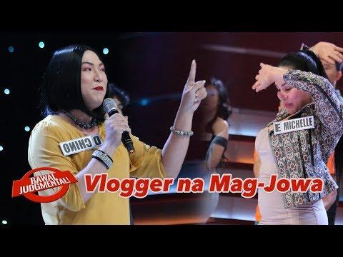 Vloggers na Mag-jowa (Marangalians Merffey Boninay Krissy Achino) Bawal Judgmental December 10, 2019
