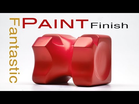 Spray Paint Finish Process: 𝐅𝐚𝐧𝐭𝐚𝐬𝐭𝐢𝐜 Surface technique for Prototypes Models & Mock ups