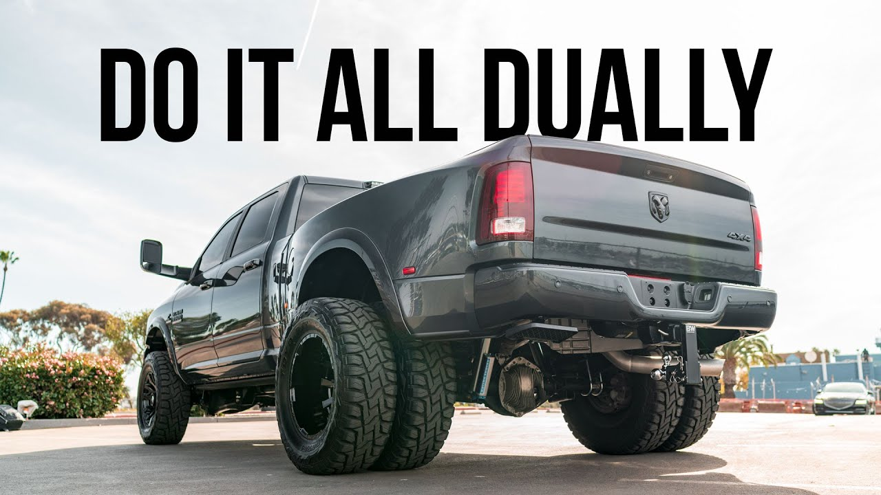 The ULTIMATE Ram 3500 Air Assist Suspension System | Carli Pintop