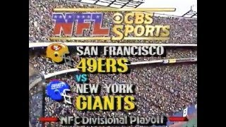 1986 NFC Divisional - 49ers vs. Giants