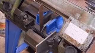 How To Make A 4x6 Metal Bandsaw Cut Square