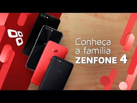 Conferimos de perto a família Zenfone 4 de smartphones da Asus - TecMundo