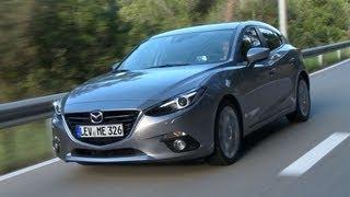 Mazda 3 road test english subtitled