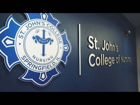 Become a nurse at St. John's College
