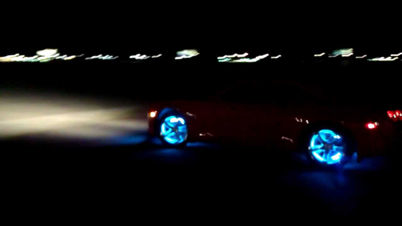 Custom Car Rims >> Transformers LED Camaro SS/RS wheel lights glowing custom lighting moving rims - YouTube