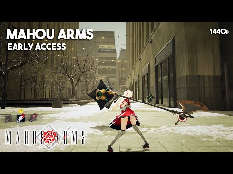 MAHOU ARMS Gameplay Full Game Walkthrough (Early Access on Steam)