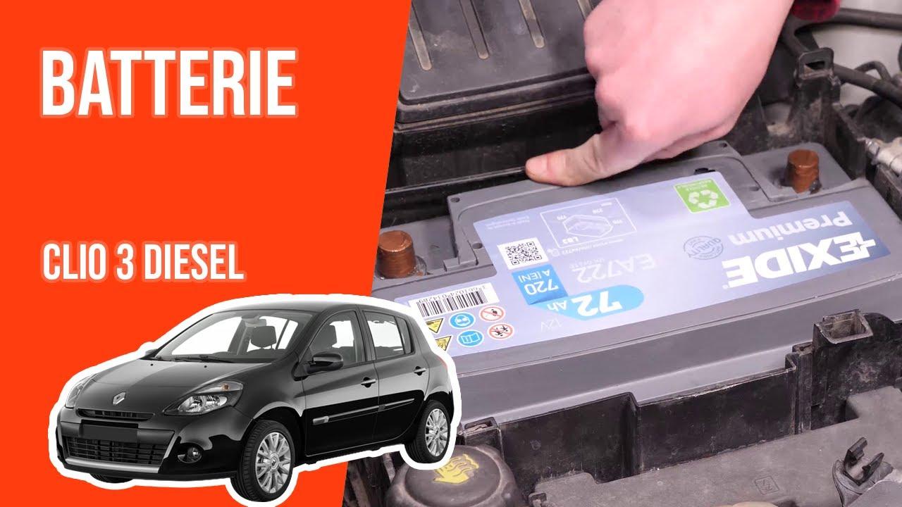 Changer La Batterie Clio 3 1 5 Dci