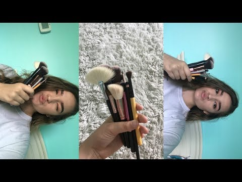 How I Clean My Makeup Brushes + Easy and Cheap!! || Maddy Rose