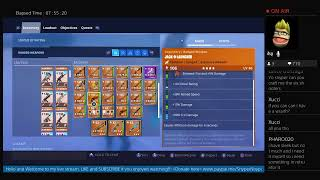 Fortnite STW - Or et Pure Drops Farming #Like-Abonnez-vous #FreeWepsToNewSubs