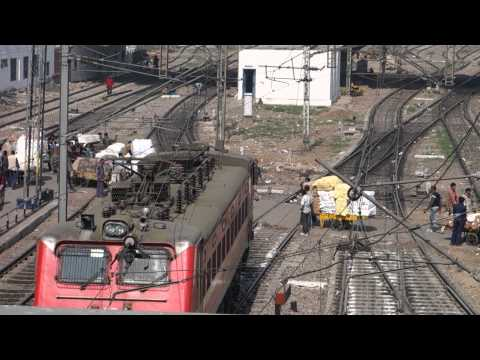 Thumbnail: A Near Miss or just a normal working day At New Delhi Train Station.