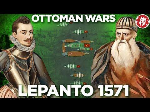 Battle of Lepanto 1571 - Ottoman Wars DOCUMENTARY