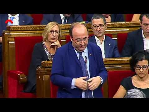 Miquel Iceta proposa a Puigdemont una estratègia conjunta per analitzar els atemptats del 17A