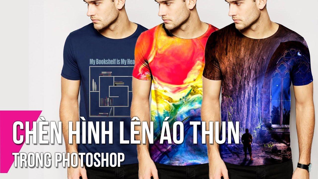 Chèn Hình Lên Áo Thun Trong Photoshop | Thùy Uyên