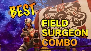 *NEW* Best Field Surgeon Pickaxe, Glider, Contrail, and Skin Combo (Fortnite Battle Royale)