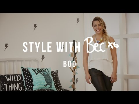 Style With Bec: Adairs Kids 'Boo'