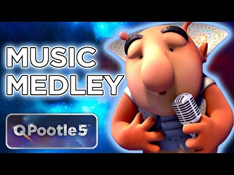 Space Song for Kids - Musical Medley | Cartoons for Kids | Q Pootle 5